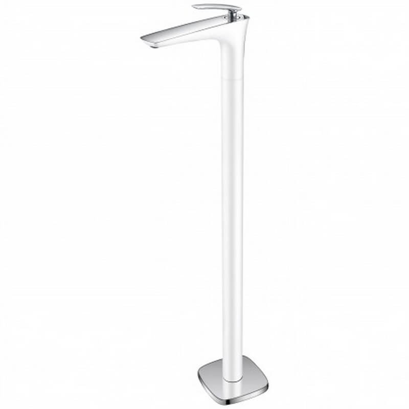 robinet mitigeur lavabo vasque totem sur pied blanc concep 39 t. Black Bedroom Furniture Sets. Home Design Ideas