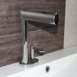 Robinet mitigeur lavabo design chromé life | Rue du Bain