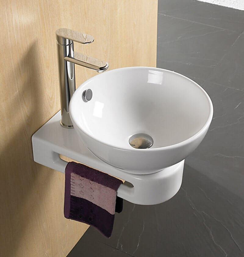 Support Lavabo Et Fixation Pour Vasque Accessoire De Salle De Bain