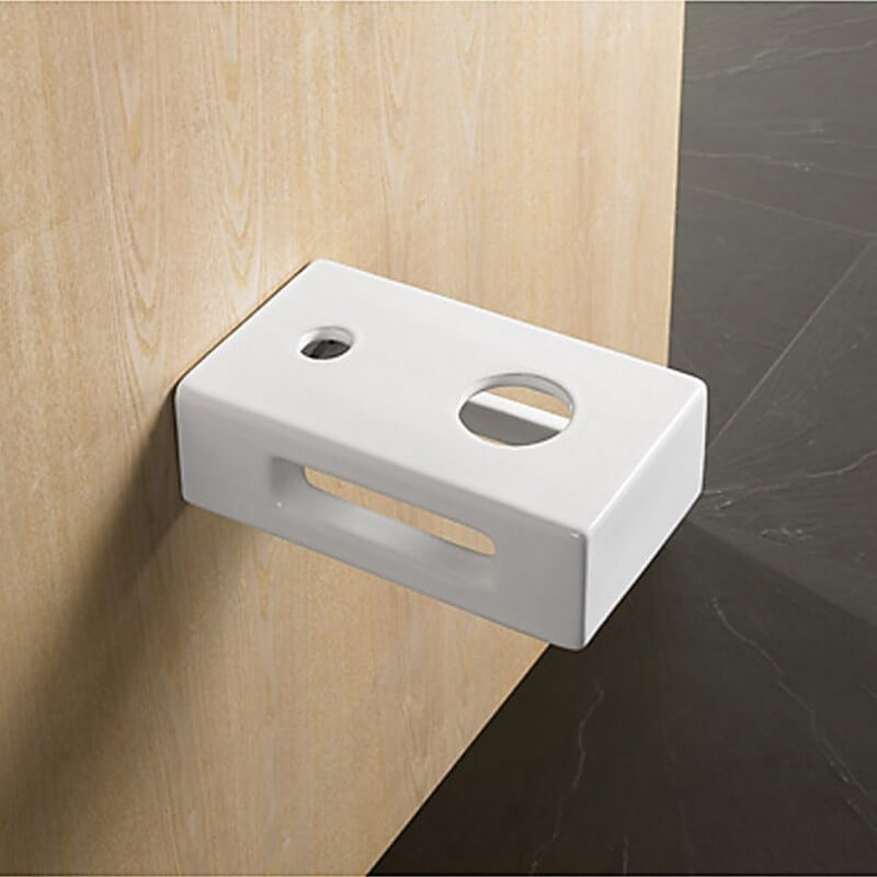 support blanc pour vasque poser support et fixation rue du bain. Black Bedroom Furniture Sets. Home Design Ideas