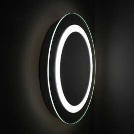Miroir salle de bain rond 50x50 cm, éclairage LED, Bull's