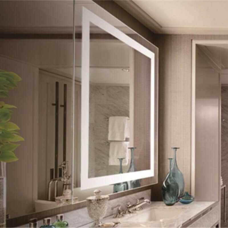 Miroir salle de bain antibuee radio for Mobilier salle de bain