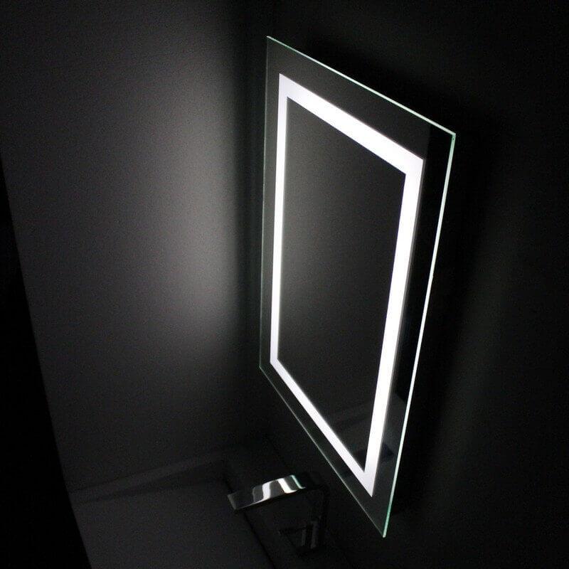 Miroir led salle de bain 20170812021635 for Miroir 50 70