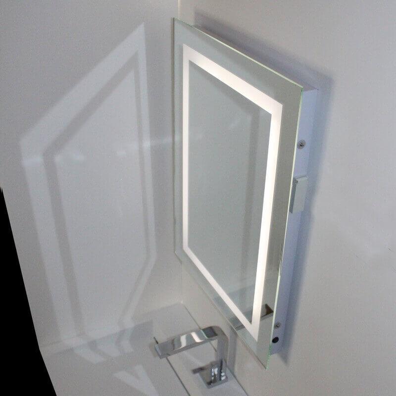 Miroir led salle de bain 20170812021635 for Miroir convexe 50 cm