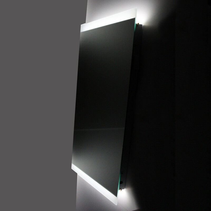 miroir salle de bain led antibu e allumage sensitif lignum. Black Bedroom Furniture Sets. Home Design Ideas