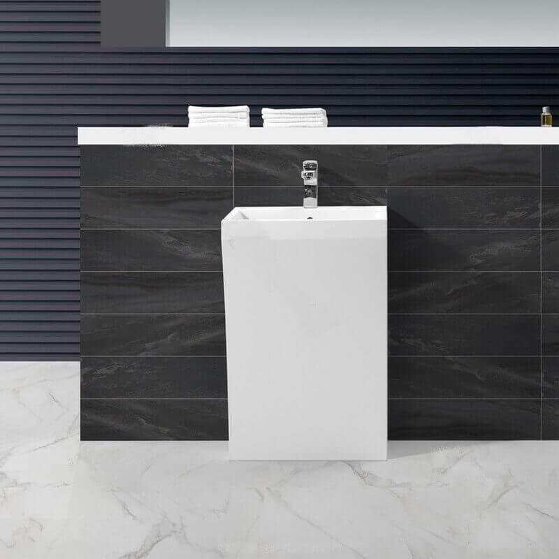 Lavabo Blanc Mat Id E Inspirante Pour La Conception De La Maison