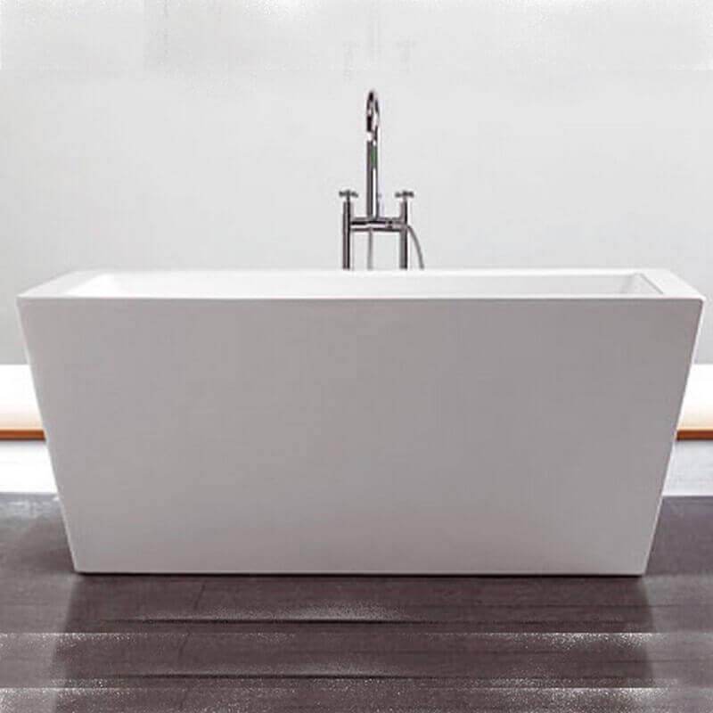 baignoire lot rectangulaire monocque 170x80 cm acrylique blanc evok. Black Bedroom Furniture Sets. Home Design Ideas