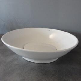 Vasque à Poser Ovale, 59x46 cm, Céramique, Dump