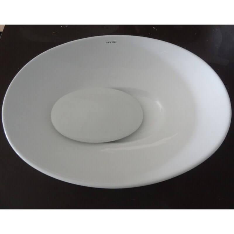 vasque ovale c ramique blanche dump vasque poser ovale. Black Bedroom Furniture Sets. Home Design Ideas