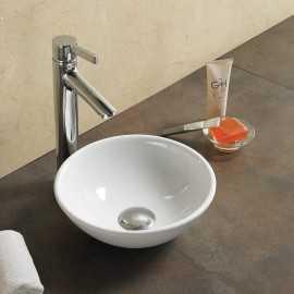 Petite Vasque Lave Main Bol, 28x28 cm, Céramique, Olys