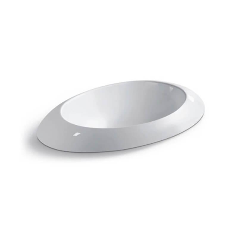 vasque ronde semi encastrable loch vasque encastrer. Black Bedroom Furniture Sets. Home Design Ideas
