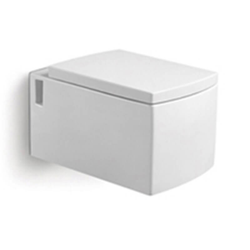 wc suspendu rectangulaire b ti support pack wc profile pas cher. Black Bedroom Furniture Sets. Home Design Ideas