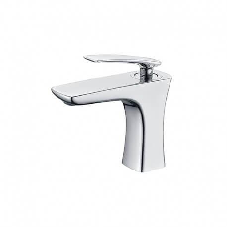 Robinet mitigeur lavabo design chromé - Concep't| Rue du Bain