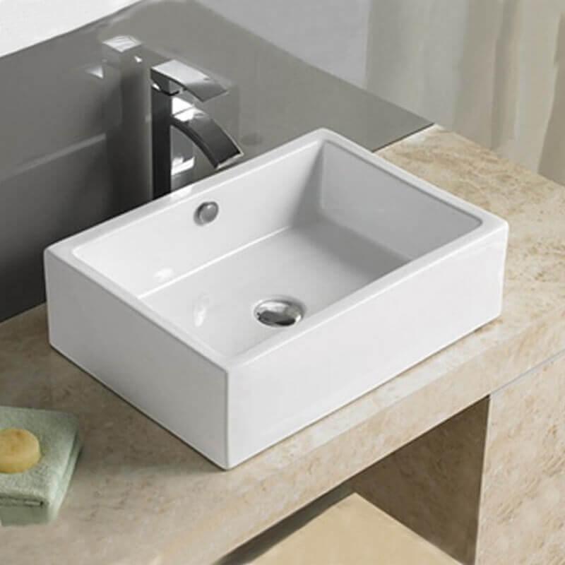 vasque a poser rectangulaire ceramique 51x36 cm line Résultat Supérieur 15 Nouveau Vasque Blanche Salle De Bain Image 2018 Gst3