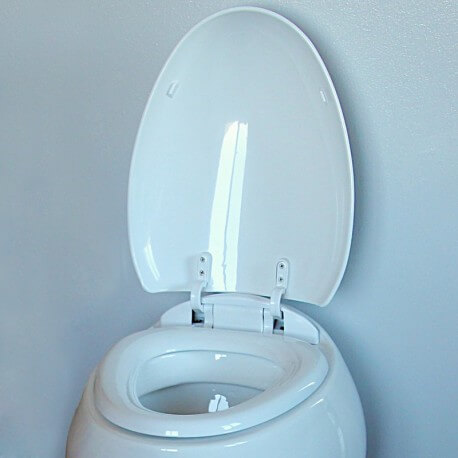 Abattant wc oeuf blanc OVE  - Rue du Bain