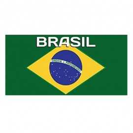 Serviette de plage Brazil