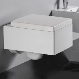 WC Suspendu Rectangulaire Kube | Rue du Bain