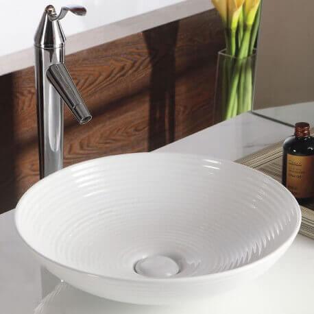 Vasque à Poser bol - Céramique - 33cm - Gossip | Rue du Bain