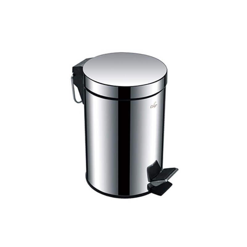 poubelle p dale chrom e 3 litres. Black Bedroom Furniture Sets. Home Design Ideas