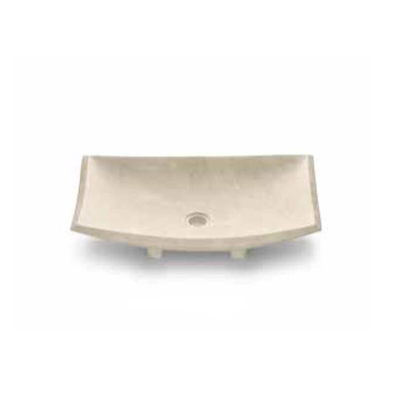 vasque poser en marbre vasques rectangulaires en pierre beige. Black Bedroom Furniture Sets. Home Design Ideas