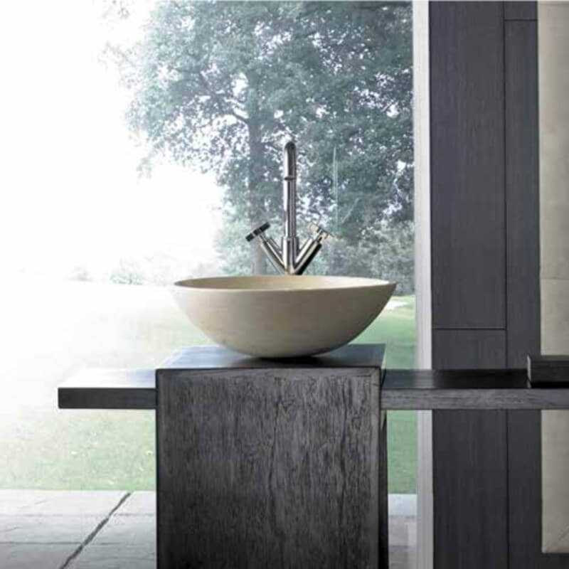 vasque poser lovely vasque en pierre rue du bain. Black Bedroom Furniture Sets. Home Design Ideas