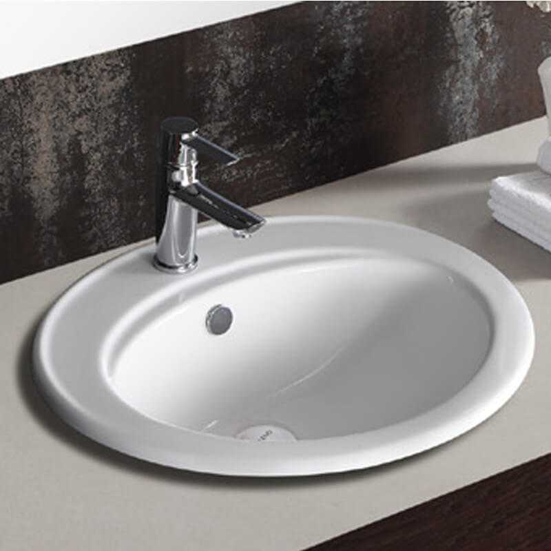 vasque ovale encastrable nea vasque encastrer c ramique ForVasque Ovale Encastrable Salle De Bain