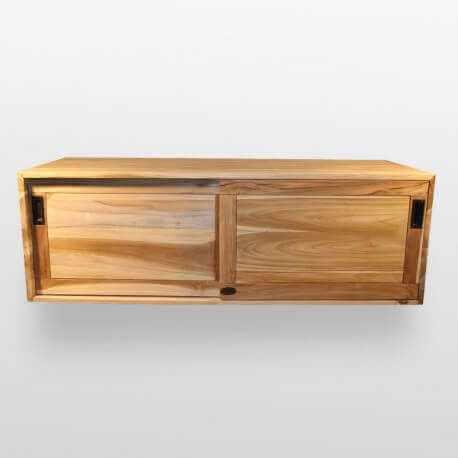 Meuble sous vasque, teck 120x50 cm, Joyce