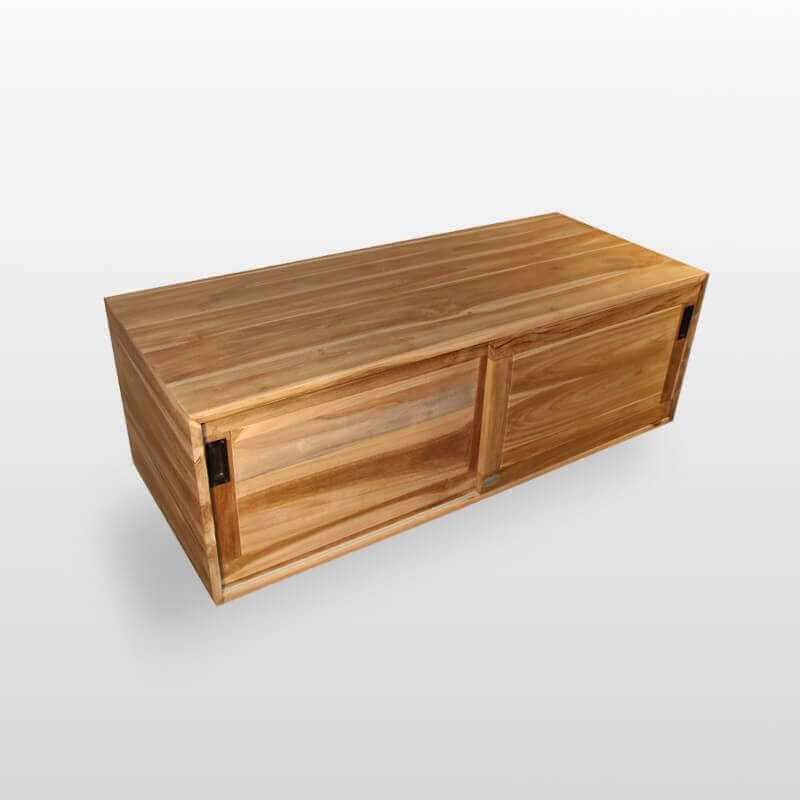 meuble teck joyce meuble salle de bain double vasque rue du bain. Black Bedroom Furniture Sets. Home Design Ideas