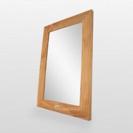Miroir de salle de bain, teck 60x40 cm, Classic