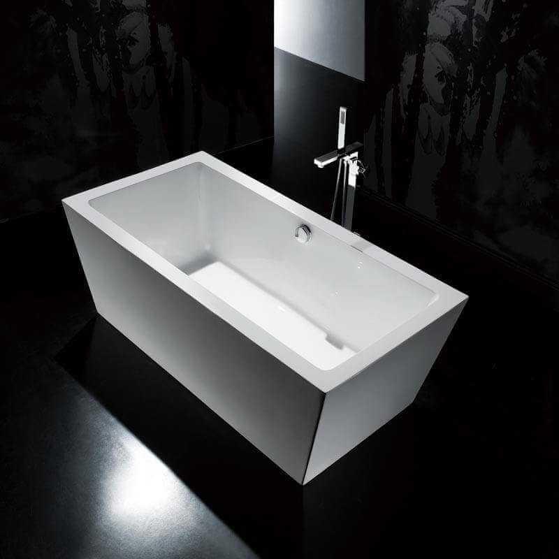 baignoire acrylique copenhague baignoire ilot rectangle rue du bain. Black Bedroom Furniture Sets. Home Design Ideas
