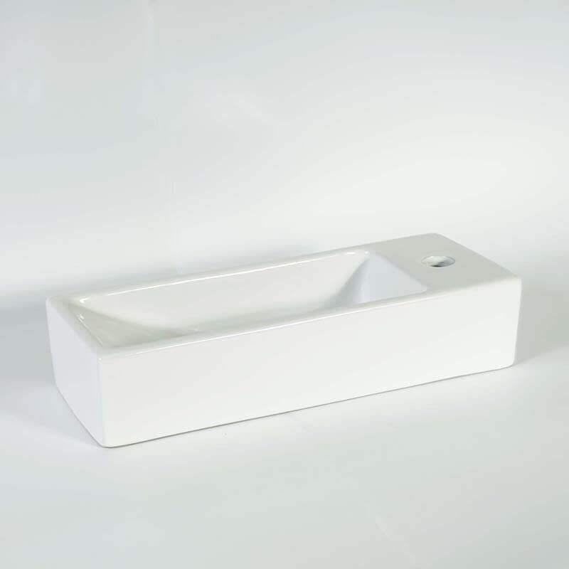 lave main gain de place 38x15 cm minimalist lave main. Black Bedroom Furniture Sets. Home Design Ideas
