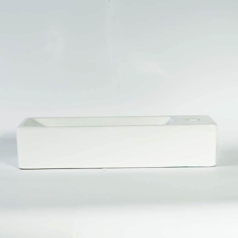 Lave main gain de place 38x15 cm minimalist lave main - Lave linge sechant gain de place ...
