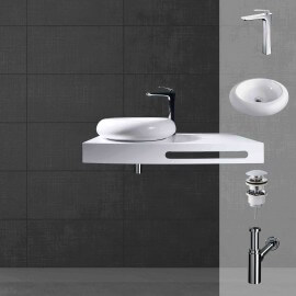 Plan vasque complet | Rue du Bain
