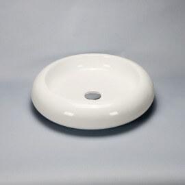 Vasque à poser ronde céramique Nude | Rue du Bain