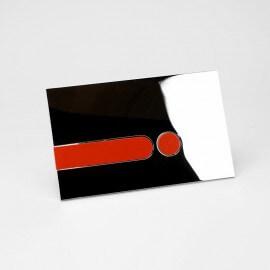 Plaque chromée brillante + Kit couleur| Rue du Bain