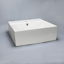 Vasque à poser carrée céramique | Rue du Bain