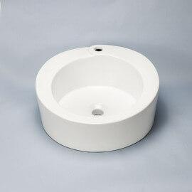 Vasque à poser ronde céramique Loft | Rue du Bain