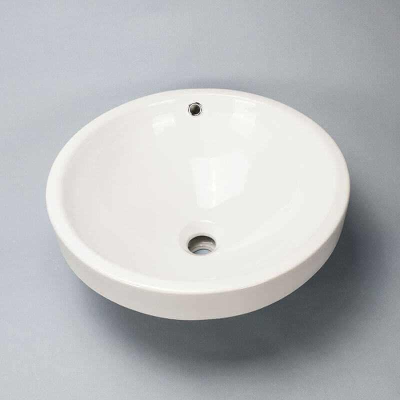 Vasque Semi-encastrée Rani-Vasque à encastrer céramique | Rue du Bain