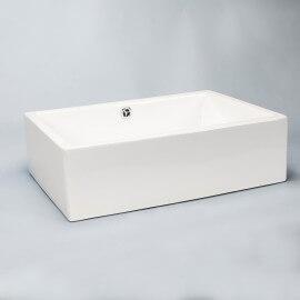 Vasque à poser rectangulaire céramique | Rue du Bain