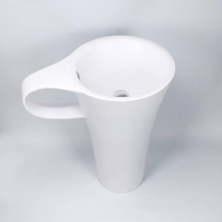 Lavabo totem tasse à café composite Cup   Rue du Bain