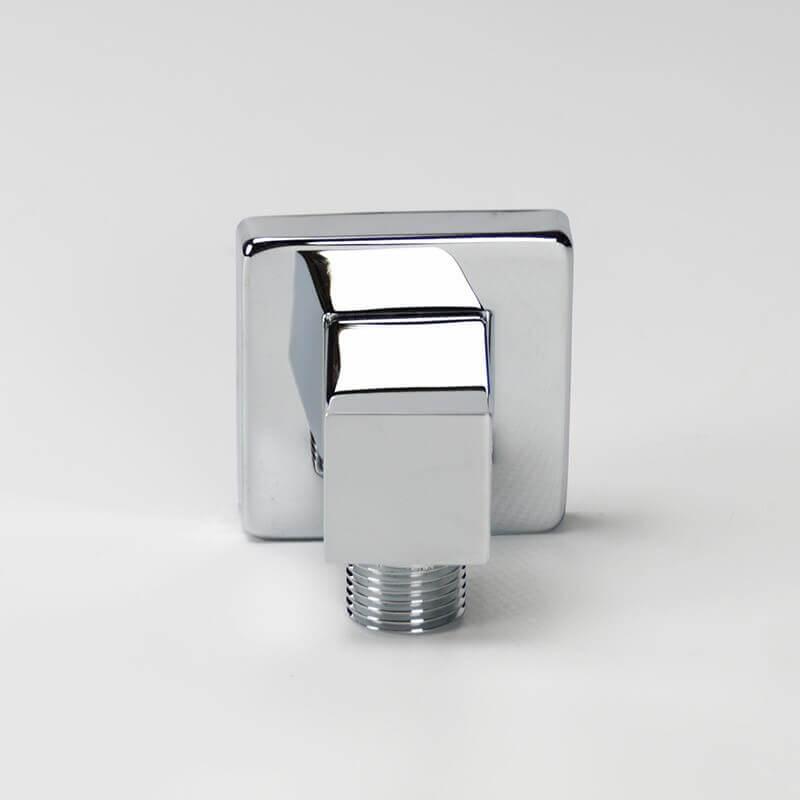 prise d 39 eau pour flexible douche chrom e et carr e kare rue du bain. Black Bedroom Furniture Sets. Home Design Ideas