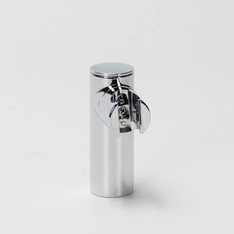 Support pour douchette rond chromé | Rue du Bain