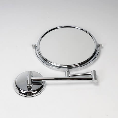Miroir Cosmétique Grossissant Chromé | Rue du Bain