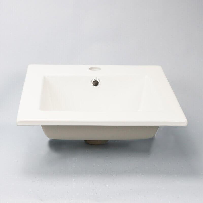 vasque encastrable carr e bent vasque encastrer c ramique. Black Bedroom Furniture Sets. Home Design Ideas