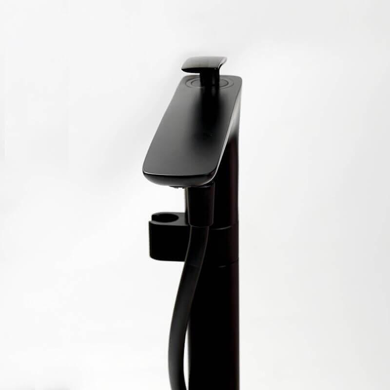 robinet mitigeur de baignoire au sol noir mat concep t Résultat Supérieur 14 Merveilleux Robinet Baignoire Noir Photos 2018 Kse4