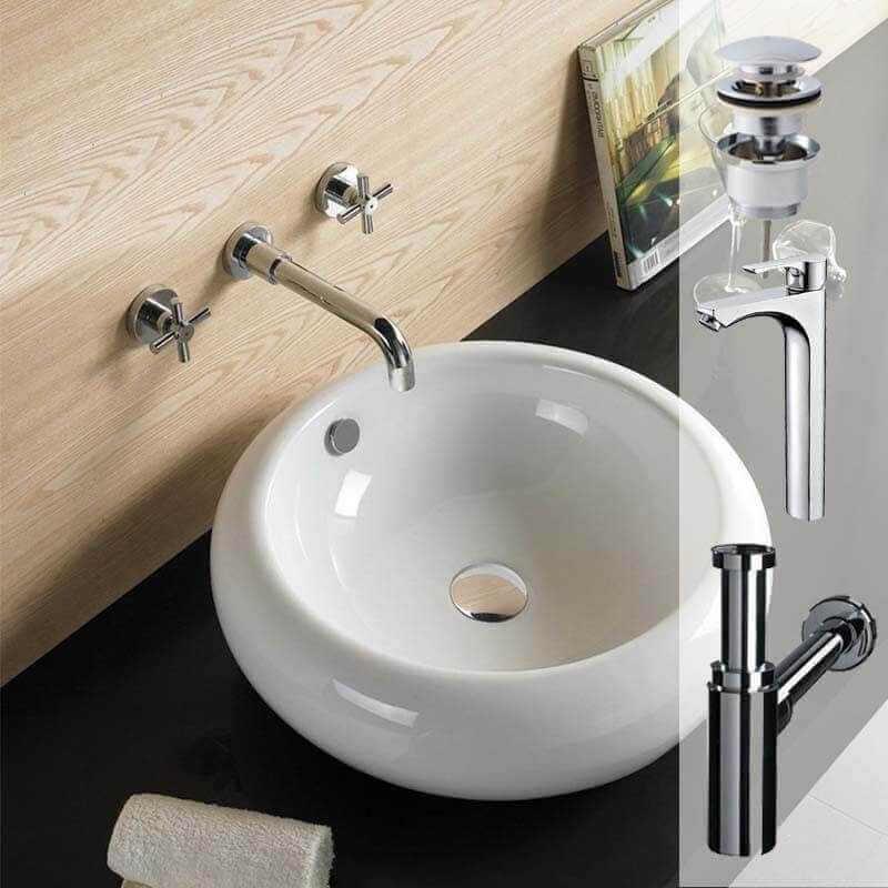 Pack vasque ove et robinet pack vasque rue du bain for Ove salle de bain