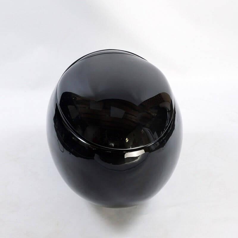 wc suspendu oeuf ove cuvette wc suspendu noir rue du bain. Black Bedroom Furniture Sets. Home Design Ideas