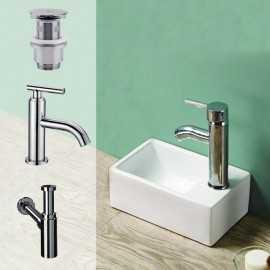 Pack lave main Essento + robinet Pure | Rue Du bain