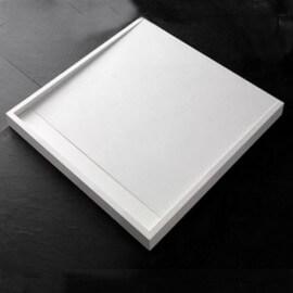 Receveur de Douche carré, 90x90 cm, composite Blanc, Xos
