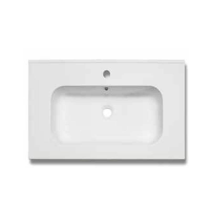 Meuble de salle de bain 1 tiroir 60 cm vasque miroir for Meuble salle de bain 1 vasque 60 cm
